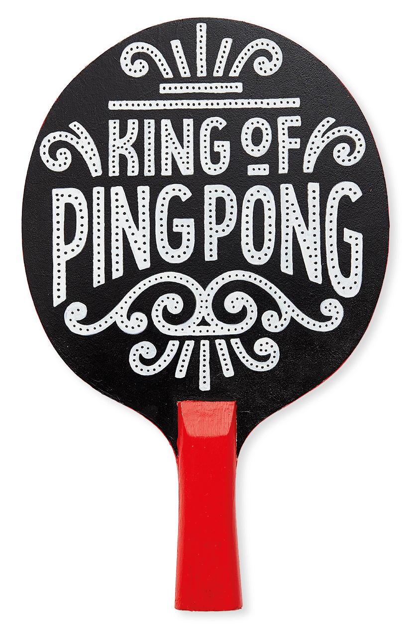 The Art Of Ping Pong - Alison Carmichael