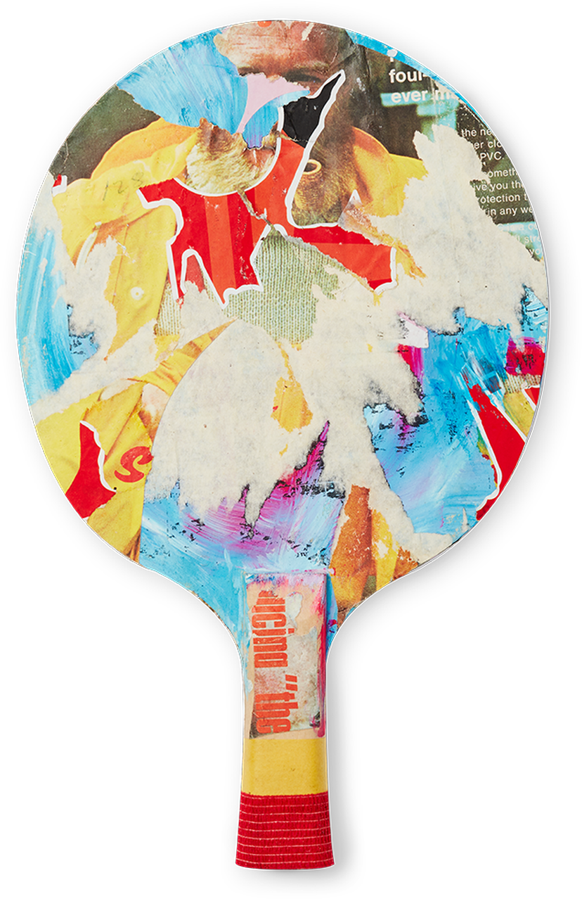 James Dawe table tennis paddle