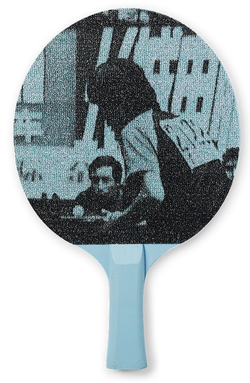 Jose Cruz table tennis paddle